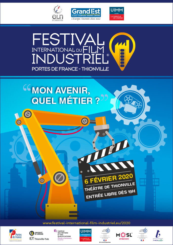 Affiche du Festival International du Film Industriel - Portes de France-Thionville ©